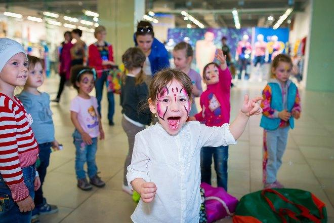 аквагрим, детский праздник