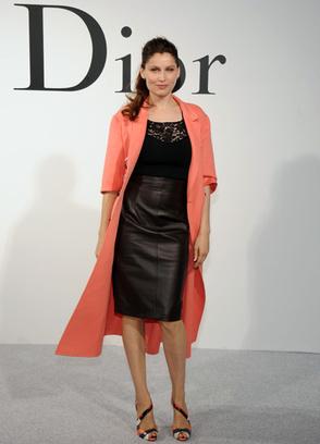 Летиция Каста на шоу Dior