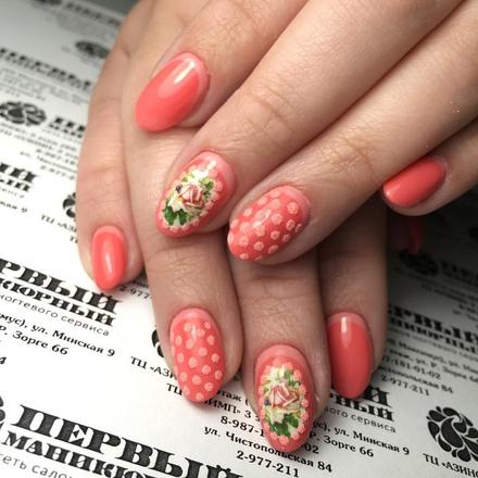 Модный маникюр, тренд весна-лето 2016