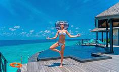 Гагарина отдыхает на Мальдивах после «Голоса»
