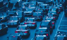На шоссе в Китае стоит пробка длиной 120 километров