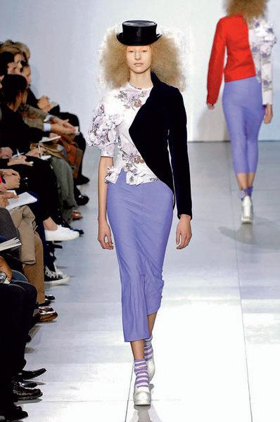 Реи Кавакубо пришила к крестьянской блузе половину «мужского» пиджака
