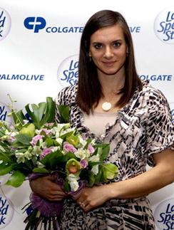 Олимпийская чемпионка Елена Исинбаева