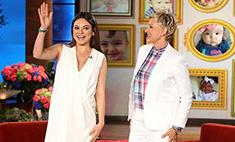Мила Кунис рассказала о своей беременности