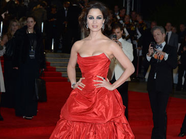 Беренис Марло на лондонской премьере фильма «007: Координаты «Скайфолл»