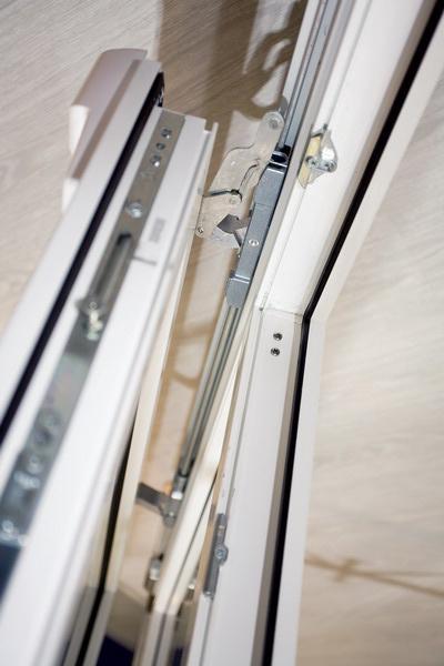 Фурнитура раздвижного окна (Siegenia Aubi)