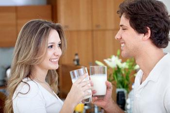 Пейте молоко - будете здоровы!
