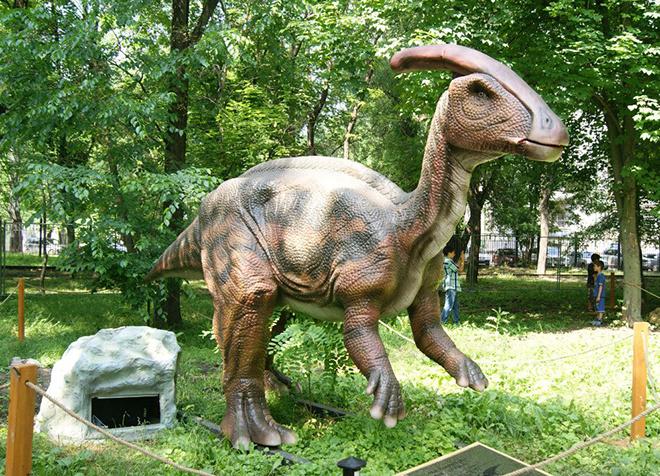 1 мая, Парк динозавров, гулянья