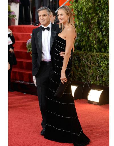 Джордж Клуни (George Clooney) и Стейси Киблер (Stacey Kiebler)