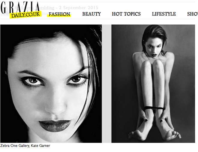 20-летняя Анджелина Джоли