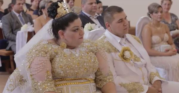 Вам и не снилось: цыганская свадьба с дождем из купюр в 500 евро