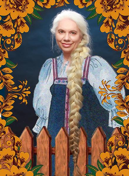 Лариса Сладкова, «Уральская краса – русская коса», фото