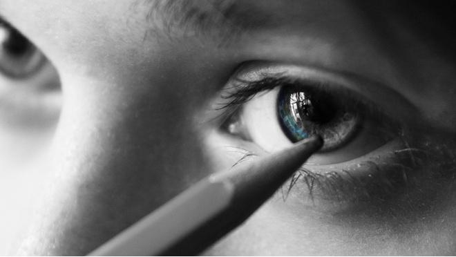 как красить маленькие глаза и маленькие веки