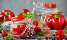 Болгарский салат в банке на зиму