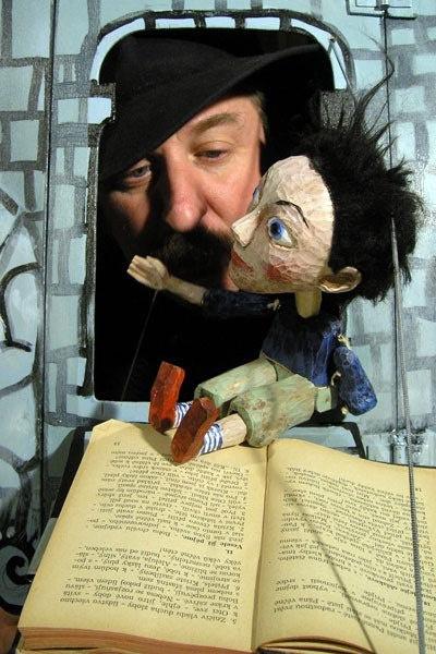 Павел Вангели, кукольный театр