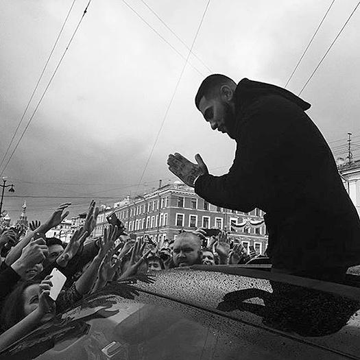 Тимати в Петербурге: фото