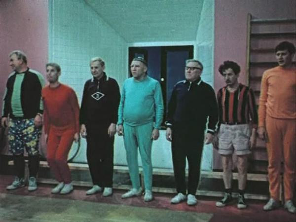 «Семь стариков и одна девушка»: о спорт – ты всё!