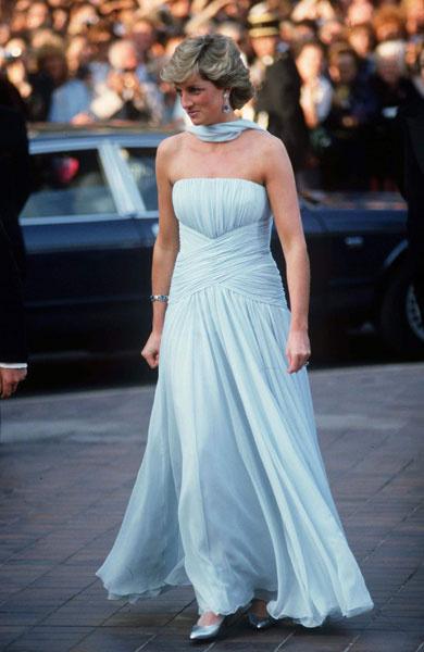 Принцесса Диана, 1987 год