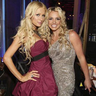 Пэрис Хилтон и Бритни Спирс на MTV Video Music Awards-2008