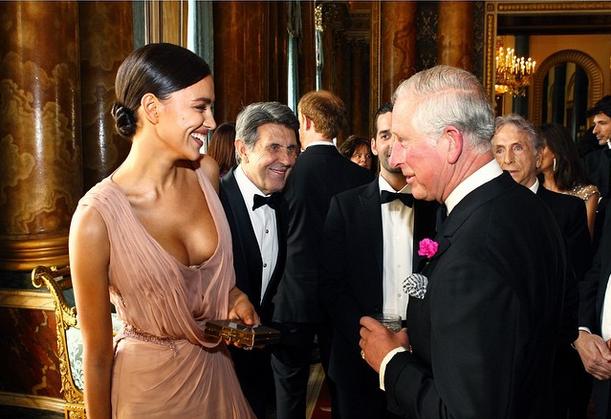 Ирина Шейк и принц Чарльз