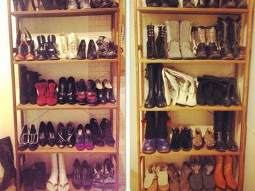 Алена водонаева - настоящий коллекционер обуви!
