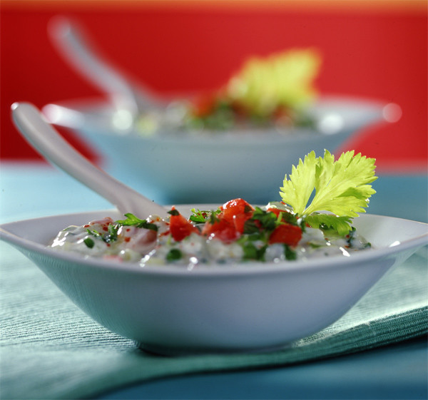 Творог с овощами: рецепт