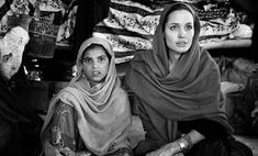 Анджелина Джоли посетила Афганистан