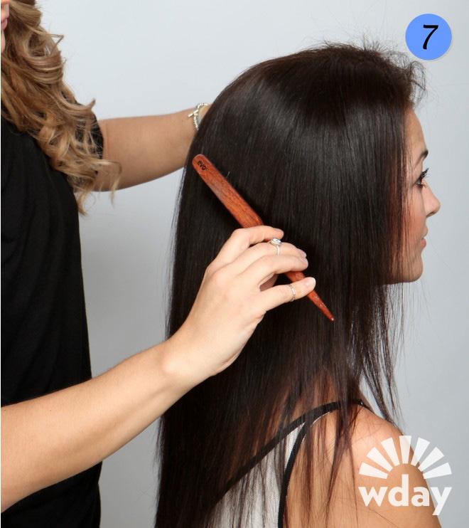 Как пригладить волосы