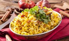 Вкусное второе блюдо – рис с мясным фаршем