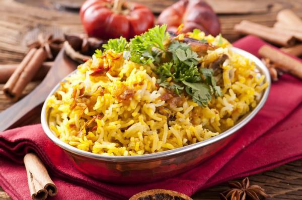 Рис с мясным фаршем