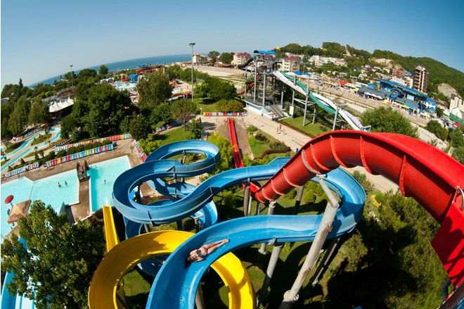 Аквапарки Краснодарского края: развлечения, цены, адреса
