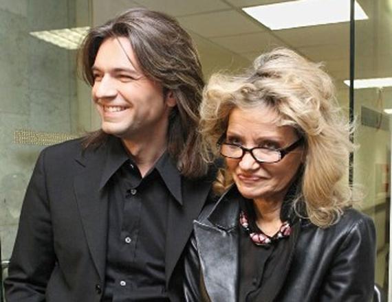 Дмитрий Маликов с мамой
