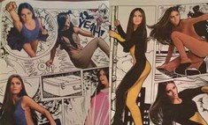 Катя Ли стала героиней комикса