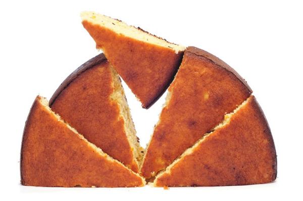 Пирог с манной крупой