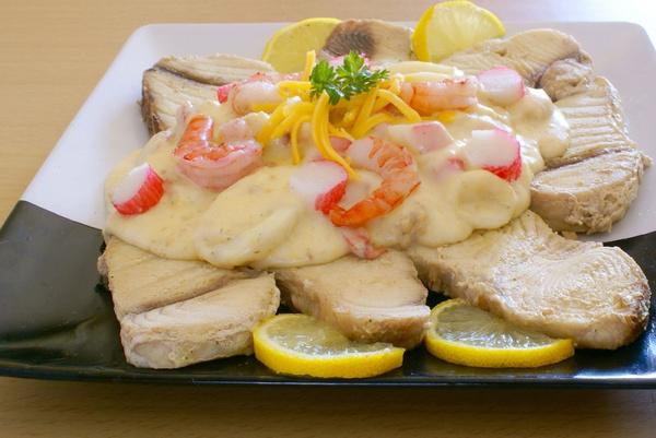 Блюдо из акулы