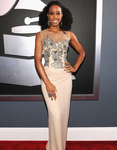 "Келли Роуланд (Kelly Rowland) на ""Грэмми""-2012"