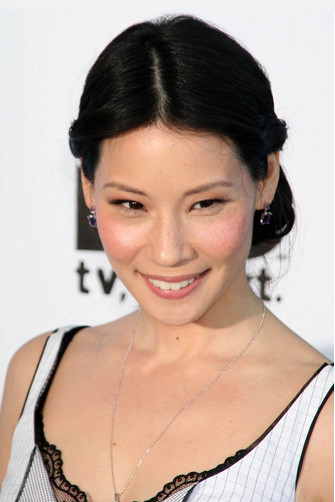 Люси Лью (Lucy Liu) на Film Independent's Spirit Awards, 2007