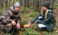 Осенний тренд: звезды увлеклись грибной охотой