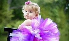 Шьем юбочку для маленькой принцессы за 30 минут