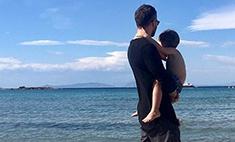 Шепелев отдыхает с сыном в Греции