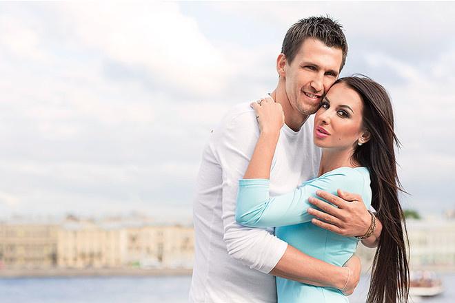Анна Грачевская с новым мужем
