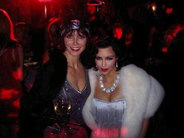 Хайди Клум (Heidi Klum) и Ким Кардашьян (Kim Kardashian) становятся гангстерами