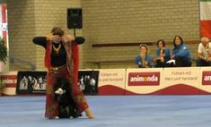 видео российской чемпионки танцам собакой вирусным
