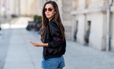 Как правильно носить шорты в городе: пример звезд
