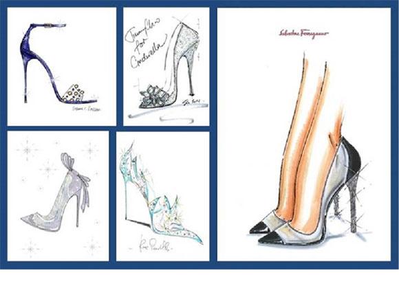 Версии хрустальных туфелек от знаменитых дизайнеров