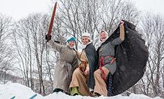 На несколько веков назад: исторические реконструкторы Владимира