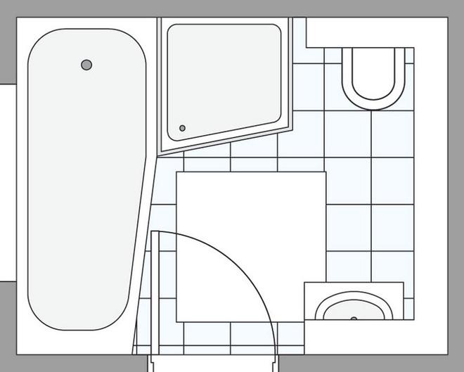 Дизайн совмещенного санузла