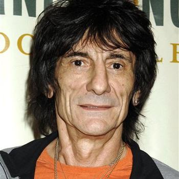 Гитарист группы Rolling Stones Ронни Вуд