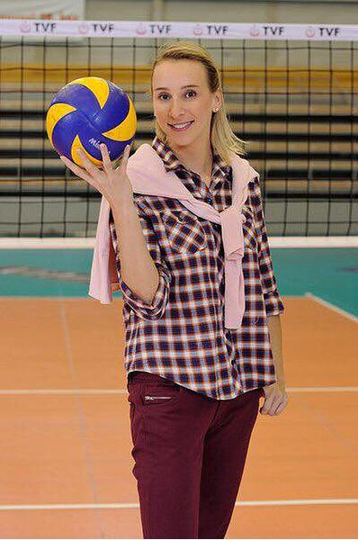 Любовь Соколова, волейболистка, фото