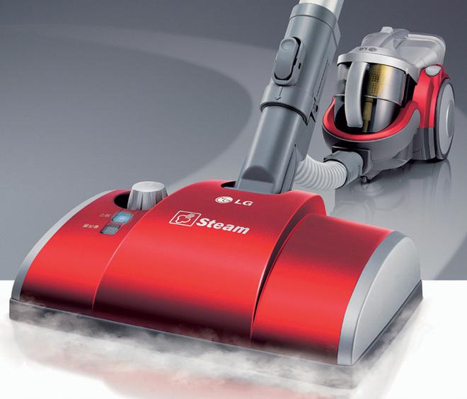 Модель Steam Kompressor  (LG Electronics), 18 000 руб., снабжена специальной паровой насадкой.